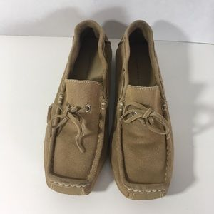 Banana Republic Size 7 Leather Driving Moccasins